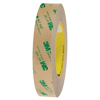3M™ 467MP Adhesive Transfer Tape, Hand Rolls, 1