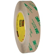 "3M™ 468MP Adhesive Transfer Tape, Hand Rolls, 1"" x 60 yds., Clear, 6/Case (T9654686PK)"