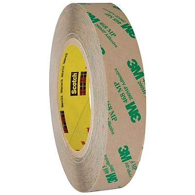 3M™ 468MP Adhesive Transfer Tape, Hand Rolls, 1
