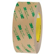 "3M™ 467MP Adhesive Transfer Tape, Hand Rolls, 2"" x 60 yds., Clear, 24/Case (19333-0)"