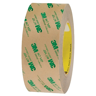 3M™ 467MP Adhesive Transfer Tape, Hand Rolls, 2