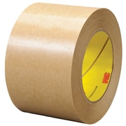 "3M™ 465 Adhesive Transfer Tape, Hand Rolls, 3"" x 60 yds., Clear, 1/Case (T9684651PK)"