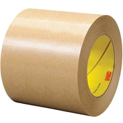 "3M™ 465 Adhesive Transfer Tape, Hand Rolls, 4"" x 60 yds., Clear, 8/Case (03341-4)"