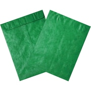 "Partners Brand Tyvek Envelopes, 9"" x 12"", Green, 100/Case (TYC912G)"