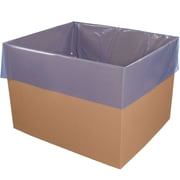 "40 x 36 x 80"" VCI Antirust Gusseted Poly Bags, 4 mil, Blue, 25/Carton (VCIPB4036G)"