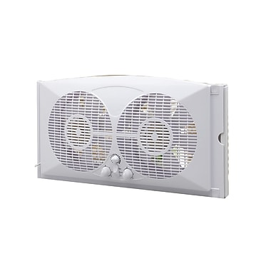 Ecohouzng 9 inch Twin Window Fan, (CT4006W)