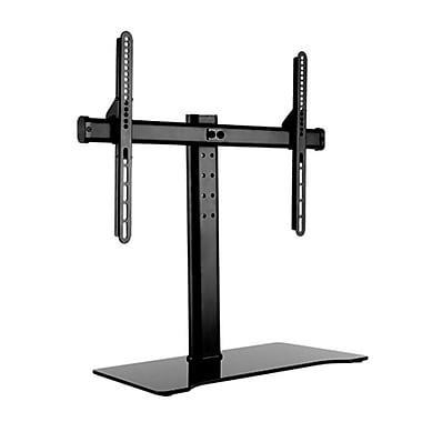 TygerClaw Universal Tabletop Stand for TV and AV Component, (LCD8407BLK)