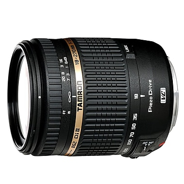 Tamron 18-270mm f/3.5-6.3 Di II VC PZD Lens for Canon, (104B008E)