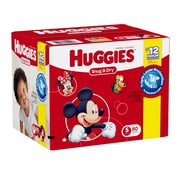 Huggies Snug and Dry Diapers Giga Jr. Steps 1-6