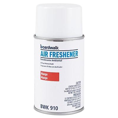 Boardwalk Metered Air Freshener Refill, Mango, 5.3 Oz Aerosol, 12/carton