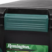 Remington® 169 Quart Store-It-All Tote with Handle, Black, 2 Pack (296003)