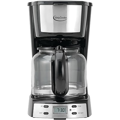 Betty Crocker 12 Cup Stainless Steel Coffee Maker (WACBC2809CB)