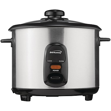 Brentwood 5-Cup Stainless Steel Rice Cooker (BTWTS10)