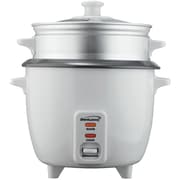 BRENTWOOD TS-180S 8-Cup Rice Cooker with Steamer