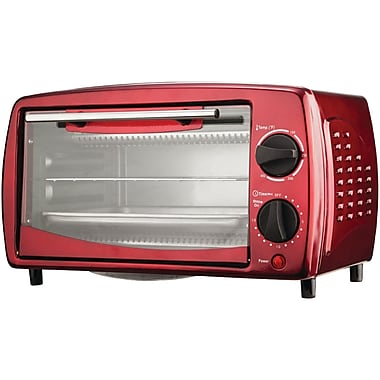 Brentwood - Four grille-pain, 4 tranches, rouge (BTWTS345R)