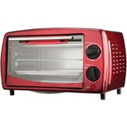 Brentwood 4 Slice Toaster Oven, Red (BTWTS345R)