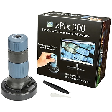 Carson Pix 300 86x-457x Digital Microscope with Integrated Camera (CSNMM940)