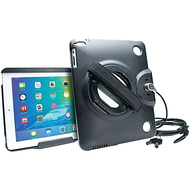 CTA Digital iPad/iPad Air Antithe' Case With Built-in Grip Stand (CTAPADACG)