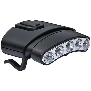 Cyclops ? Lampe à 5 DEL de 30 lumens avec pince pour casquettes inclinable