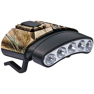 Cyclops 30 Lumen Tilt 5 LED Hat Clip Light, Camo (GSMCYCHCDTWGNX)