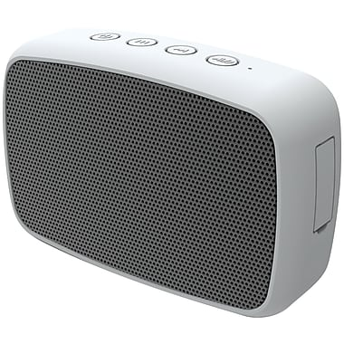 Ematic Esq206sl Rugged Life Noize Bluetooth Speaker, Silver