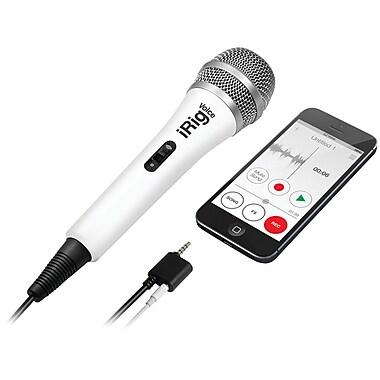IK Multimedia iRig Voice Karaoke Microphone, White (IKMIRIGMICVOW)