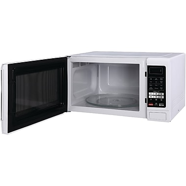 MAGIC CHEF MCM1611W 1.6 Cubic-ft. Countertop Microwave (White)