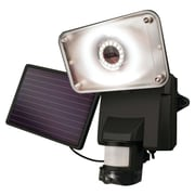 Maxsa Solar-powered Security Video Camera & Floodlight