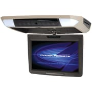 """Power Acoustik 11.2"""" Ceiling-mount Swivel DVD Entertainment System With IR & FM Transmitters & 3 Interchangeable Skins"""