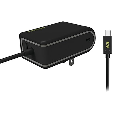 Puregear USB-A To USB-C Travel Wall Charger (black)