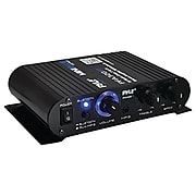 Pyle Home Pfa330bt 90-watt Mini Blue Series Compact Bluetooth® Amp