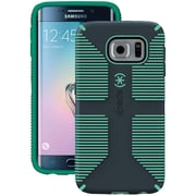 Speck Samsung Galaxy S 6 Edge Candyshell Grip Case (gray/green)