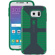 Speck Samsung Galaxy S 6 Candyshell Grip Case (gray/green)