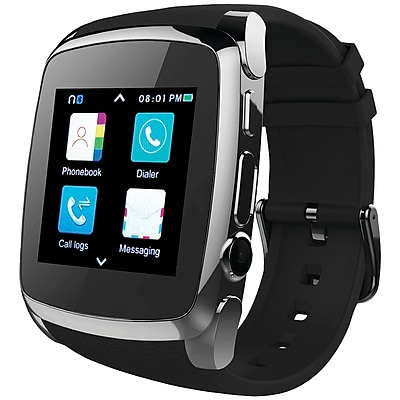 Supersonic SC-64SW Bluetooth® Smart Watch with Call Feature