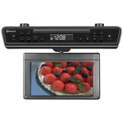 "Sylvania 10.2"" Under-Counter Bluetooth Kitchen TV With Built-in DVD Player And HDMI (CURSKCR2706BT)"
