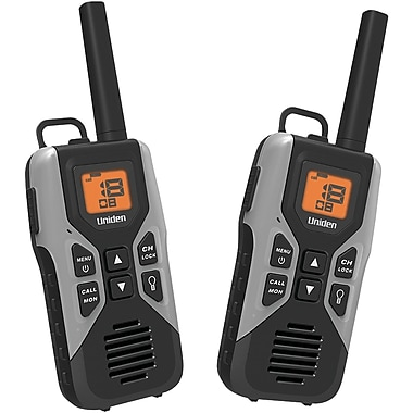 Uniden 30 Mile 2-Way FRS/GMRS Radios, 2/Pack (UNNGMR30502C)