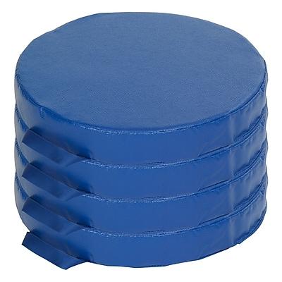 ECR4kids SoftZone® Foam Floor Cushions, Blue (ELR-12643-BL)