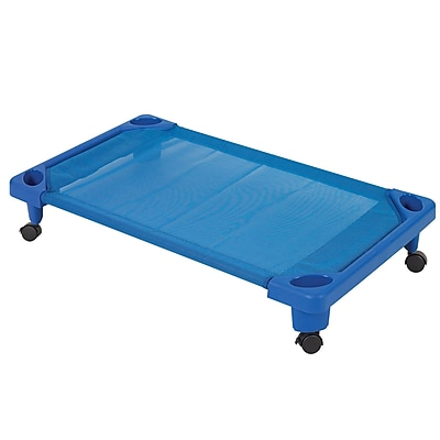 ECR4Kids Toddler Streamline Cot Carrier - Blue (ELR-16124-C)