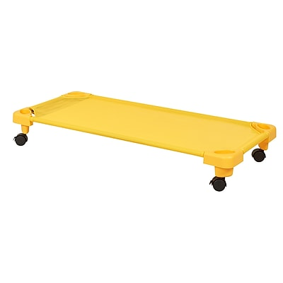 ECR4Kids Standard Stackable Kiddie Cot Carrier -Yellow (ELR-16125-C-YE)
