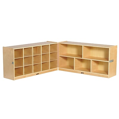 ECR4Kids Fold and Lock 15 Tray Cabinet and 24