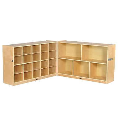 ECR4Kids Fold and Lock 15 Tray Cabinet and 30