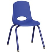 "ECR4Kids 16"" Stack Chair with Matching Legs - Blue (ELR-2195-BLG)"