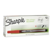 Sharpie® Pens, Fine Point, Red, 12/pk (1742665)