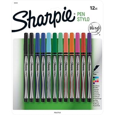 Sanford Sharpie Pen Stylo Fine Set, 12/Pkg