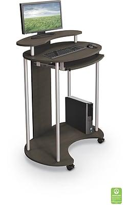 Balt Up-Rite Work Station Sit & Stand Desk, Brown (91105)