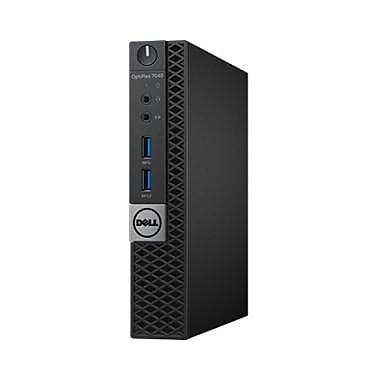 Dell OptiPlex 7040 Desktop, 2.50 GHz Intel i5-6500T, 8 GB DDR4 SDRAM, 128 GB, English(5JNC4)