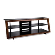 Bell'O 60 Inch TV Stand for TVs up to 65 Inch, Medium Espresso (AVSC4260)