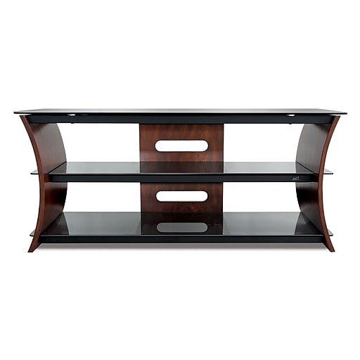 Bell O 56 Inch Tv Stand For Tvs Up To 60 Inch Caramel Brown Cw356