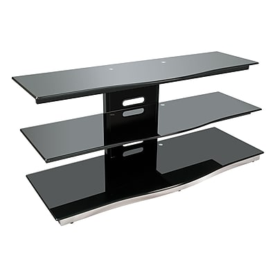 Bell'O 52 Inch TV Stand for TVs up to 55 Inch, Dark Pewter (PVS4252)