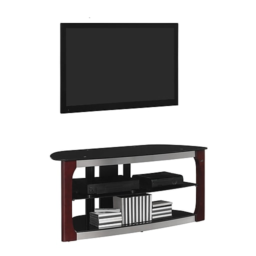 Bell O Triple Play 52 Inch Tv Stand For Tvs Up To 60 Inch Dark